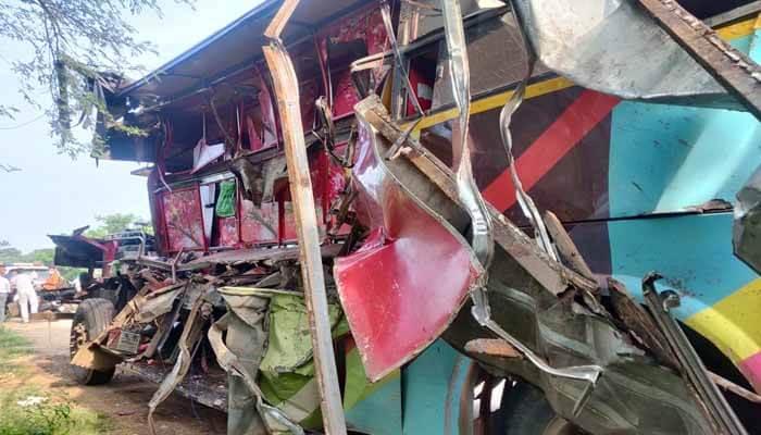 रायपुर : भीषण सड़क हादसे में 7 लोगों की मौत