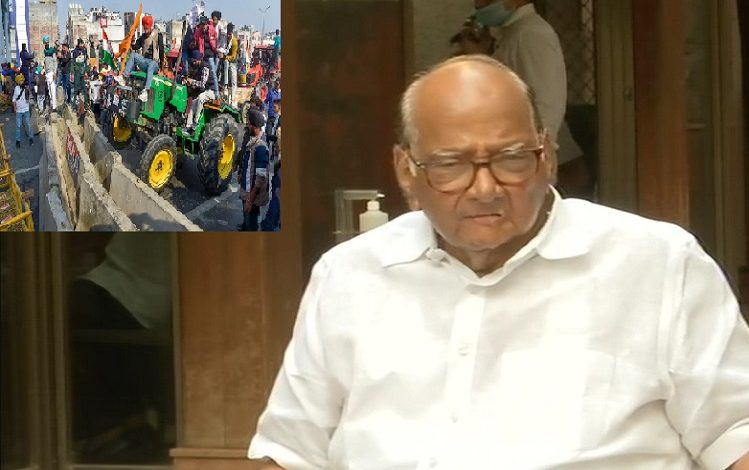The restraint of the farmers was broken, so they took out a tractor march, but it was the job of the Center to handle law and order, why could they not handle it…! NCP Chief puts all allegations on Center,