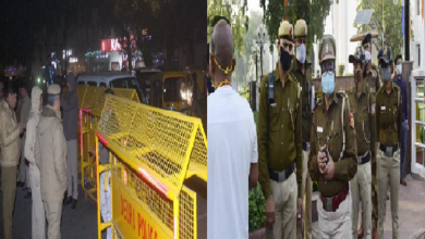 Delhi: Is there going to be a ruckus in Delhi just before Republic Day…! Today, near the Khan Market Metro station,