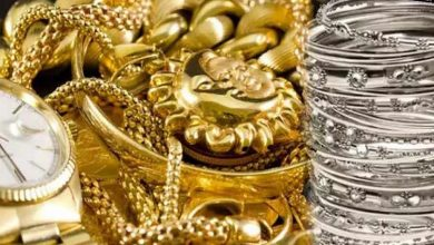 Heavy fall in prices of gold and silver
