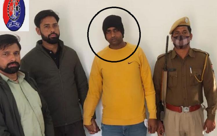 Rajasthan : पुलिस के शिकंजे में आया मोस्ट वांटेड पपला गुर्जर की गैंग का ये बड़ा अपराधी…!, हरियाणा के कासौला से AK-47 के साथ गिरफ्तार