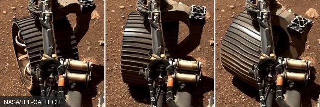 नासा के पर्सिवियरेंस रोवर ने मंगल ग्रह की सतह पर खोज शुरू की