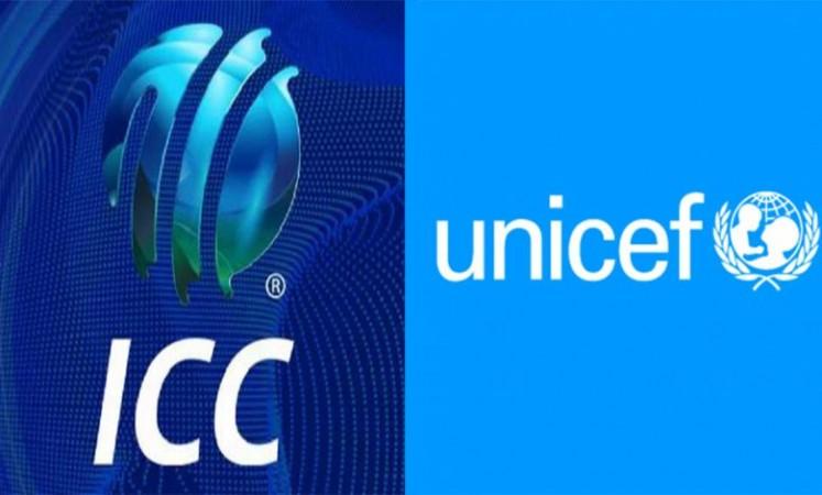ICC ने दक्षिण एशिया में UNICEF के कोरोना राहत प्रयासों का समर्थन करने के लिए लॉन्च किया फंडरेज़र