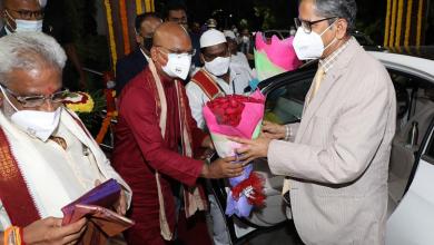 Tirupati : 48वें मुख्य न्यायाधीश के रूप में कार्यभार संभालने के बाद पहली बार तिरुपति पहुंचे चीफ जस्टिस एन.वी. रमना, कल तिरुपति मंदिर के दर्शन करेंगे