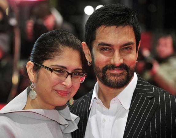 Aamir Khan-Kiran Rao spotted together after divorce declaration