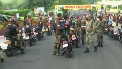 Kargil victory Diwas के उपलक्ष्य में भारतीय सेना ने मोटरसाइकिल रैली का आयोजन किया