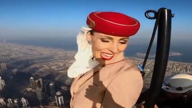 संयुक्त अरब अमीरात की एमिरेट्स एयरलाइंस का विश्व की सबसे ऊंची इमारत बुर्ज खलीफा के टॉप पर बनाया गया ये एड वीडियो…