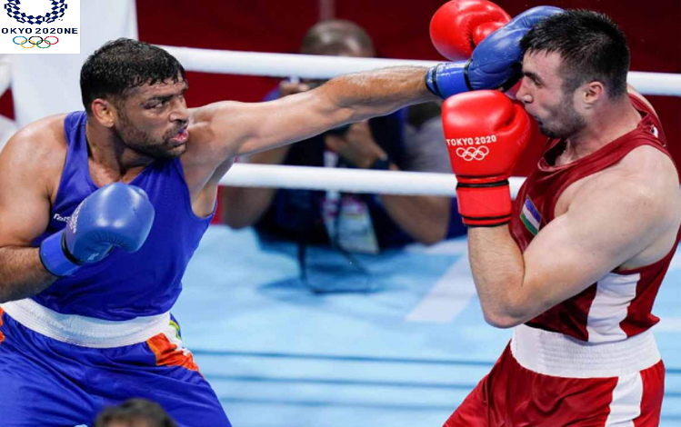Tokyo Olympics 2020 : टोक्यो ओलंपिक की मुक्केबाजी स्पर्धा में भारतीय पुरुष चुनौती खत्म, पदक की आखिरी उम्मीद बॉक्सर सतीश कुमार को विश्व चैंपियन उजबेकिस्तान के जलोलोव ने 5-0 से एकतरफा अंदाज में हराया