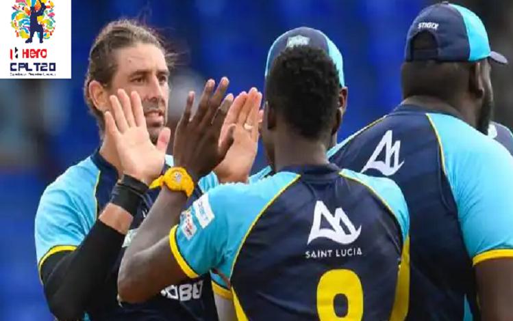 CPL 2021 : सेंट लूसिया ने लगातार दूसरी बार सीपीएल के फाइनल में जगह बनाई, त्रिनबागो नाइट राइडर्स को 21 रन से हराया, दयाल ने खेली 44 गेंदों पर 78 रनों की विस्फोटक पारी