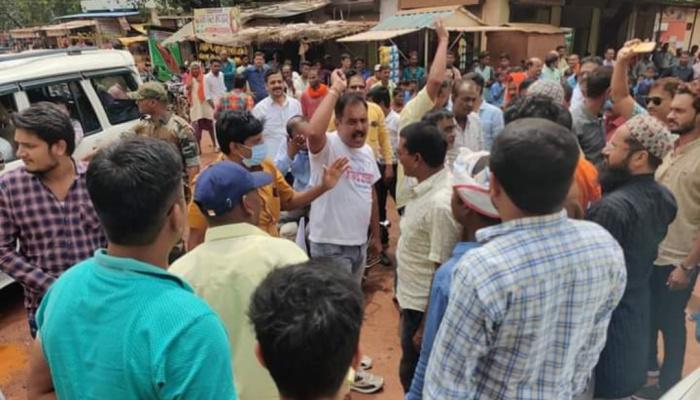 खैरागढ़ को जिला बनाने की मांग को लेकर रायपुर कूच कर रहे आंदोलनकारियों को पुलिस ने रोका, 490 गिरफ्तार