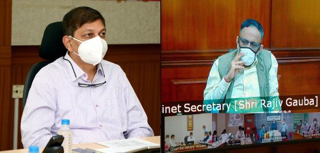 देश में कोविड-19 की संभावित तीसरी लहर केन्द्रीय केबिनेट सचिव ने ली बैठक