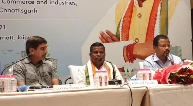 छत्तीसगढ़ में उद्योग लगाने राजस्थान के उद्यमियों ने दिखाई रुचि