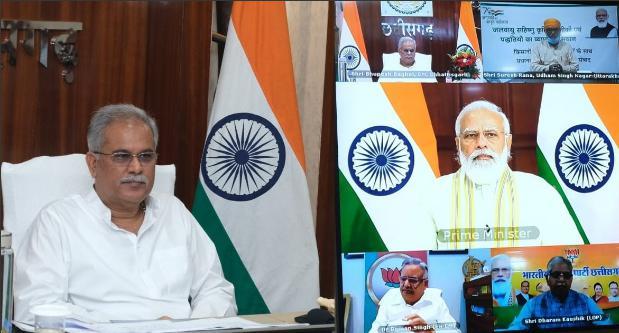 PM मोदी ने जलवायु परिवर्तन के प्रभाव से फसलों को बचाने के लिए छत्तीसगढ़ में किए जा रहे प्रयासों की तारीफ की