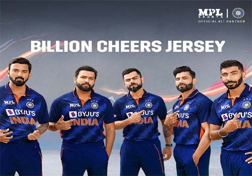 T-20 World Cup के मद्देनज़र 'BCCI' ने लॉन्च की टीम India की नई जर्सी